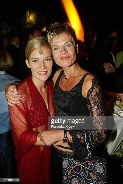 Jessica Stich Moderatorin Milena Preradovic Bei Party Des Deutschen Filmpreises Im Berliner Tempodrom
