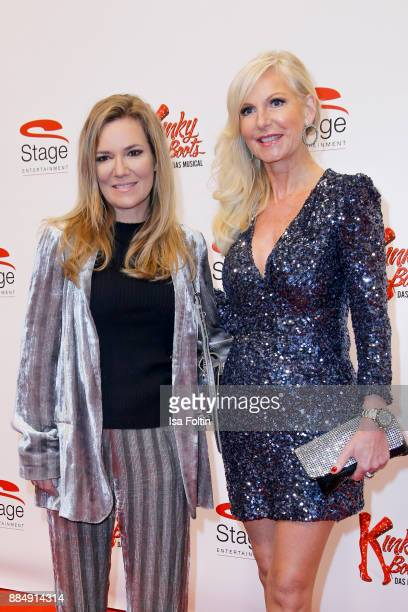 Jessica Stockmann and Marion Vedder attend the 'Kinky Boots' Musical Premiere at Stage Operettenhaus on December 3 2017 in Hamburg Germany