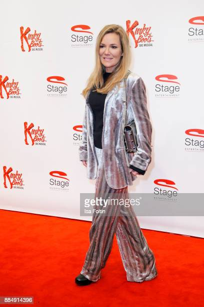 Jessica Stockmann attends the 'Kinky Boots' Musical Premiere at Stage Operettenhaus on December 3 2017 in Hamburg Germany