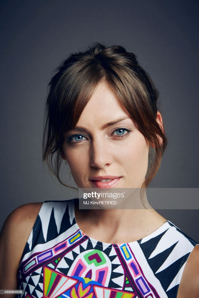 Jessica Stroup poses for a portrait at the Getty Images Portrait Studio powered by Samsung Galaxy at Comic-Con International 2014 on July 24, 2014 in San Diego, California.