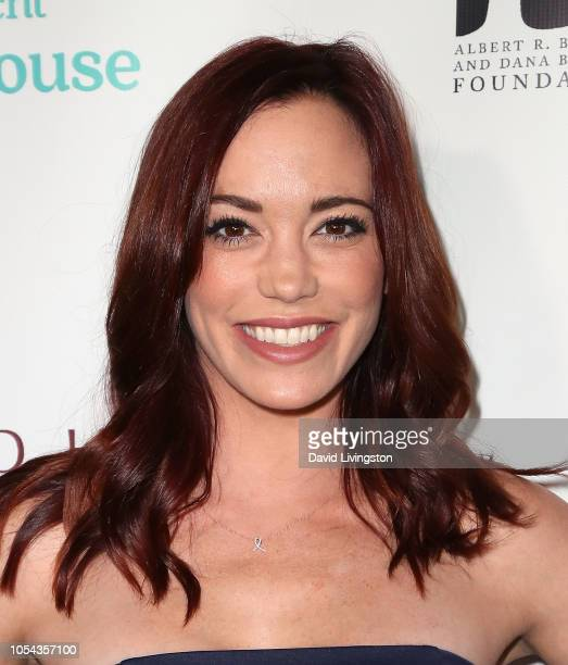 Jessica Sutta attends the Peggy Albrecht Friendly House's 29th Annual Awards Luncheon at The Beverly Hilton Hotel on October 27 2018 in Beverly Hills...