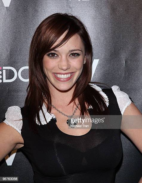 Jessica Sutta attends the Vida launch party at Voyeur on January 13 2010 in West Hollywood California
