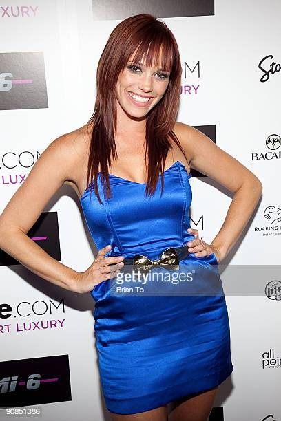 Jessica Sutta of the Pusscat Dolls attends Mi6 Nightclub Grand Opening Party on September 15 2009 in West Hollywood California