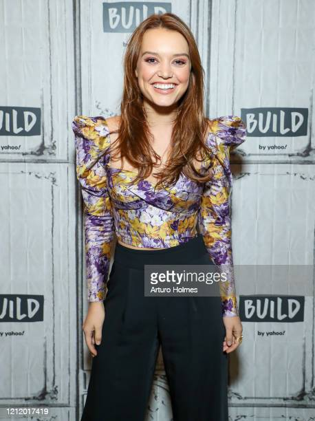 Jessica Sutton visits BUILD at Build Studio on March 12, 2020 in New York City.