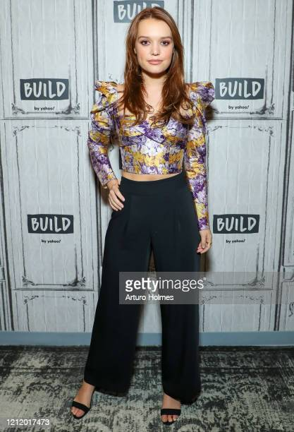 Jessica Sutton visits BUILD at Build Studio on March 12 2020 in New York City