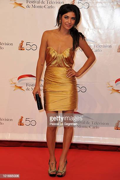 Jessica Szohr arrives to attend the opening night of the 2010 Monte Carlo Television Festival held at Grimaldi Forum on June 6 2010 in MonteCarlo...