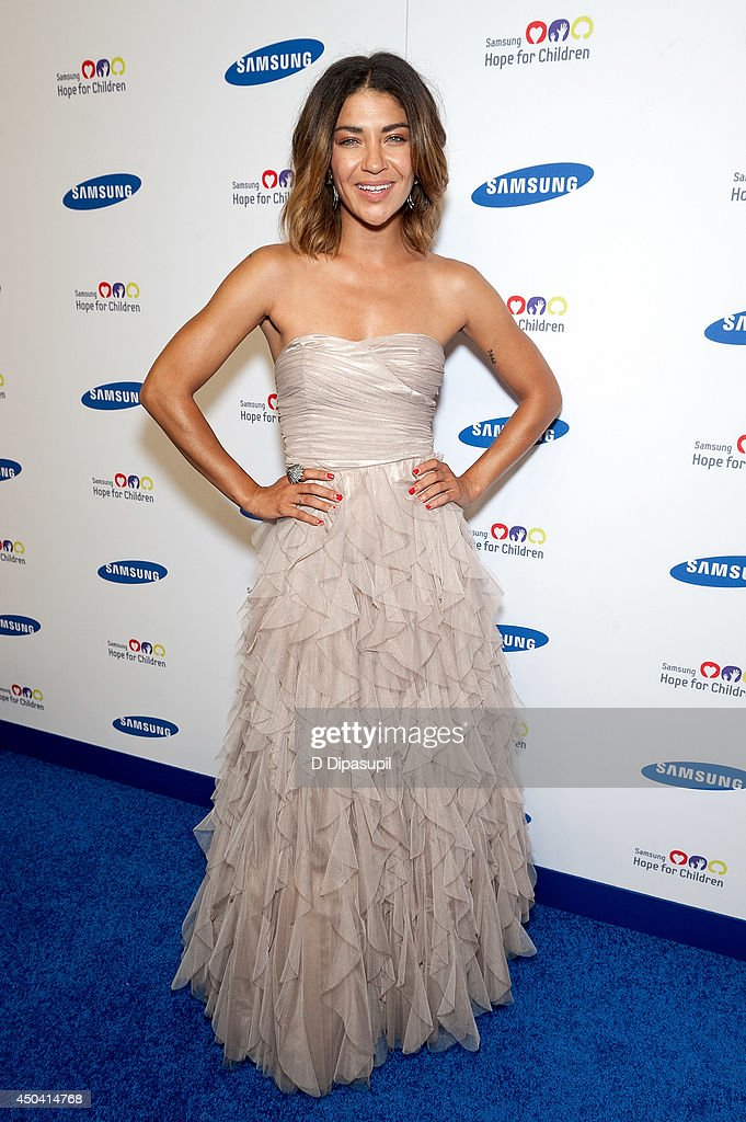 Jessica Szohr attends the 13th Annual Samsung Hope For Children Gala at Cipriani Wall Street on June 10, 2014 in New York City.