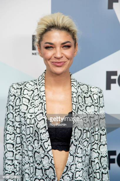 Jessica Szohr attends the 2018 Fox Network Upfront at Wollman Rink Central Park on May 14 2018 in New York City