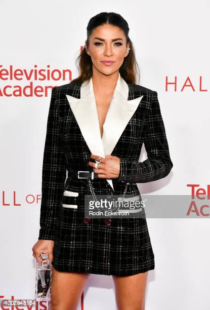 Jessica Szohr attends the Television Academy's 25th Hall Of Fame Induction Ceremony at Saban Media Center on January 28 2020 in North Hollywood...