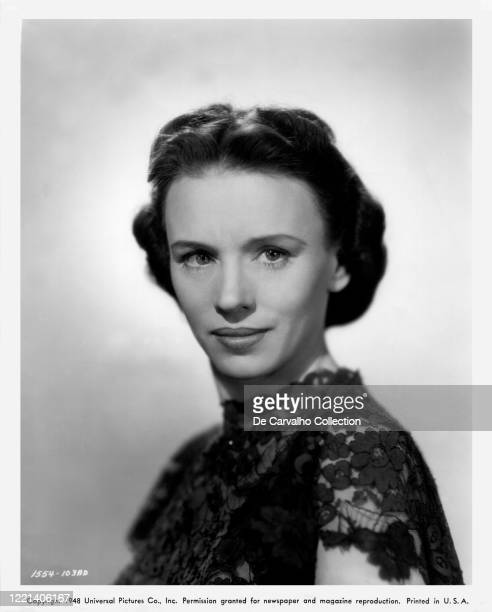 Jessica Tandy as 'Janet Spence' in a publicity shot from the movie 'A Woman's Vengeance' United States