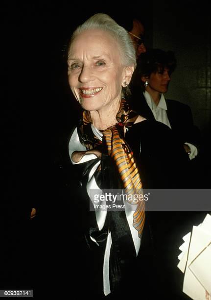 Jessica Tandy circa 1990 in New York City