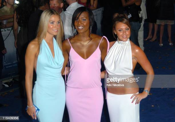 Jessica Taylor Kelli Young and Michelle Heaton of Liberty X