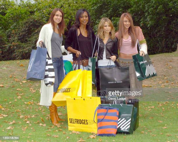 Jessica Taylor Kelli Young Rachel Stevens and Michelle Heaton