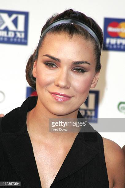 Jessica Taylor of Liberty X during FIFPRO World XI Player Awards at Wembley Conference Centre in London Great Britain