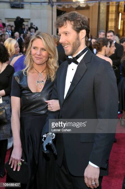 Jessica Trusty and Aron Ralston arrive at the 83rd Annual Academy Awards held at the Kodak Theatre on February 27 2011 in Los Angeles California