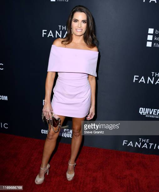 Jessica Uberuaga arrives at the Premiere Of Quiver Distribution's The Fanatic at the Egyptian Theatre on August 22 2019 in Hollywood California