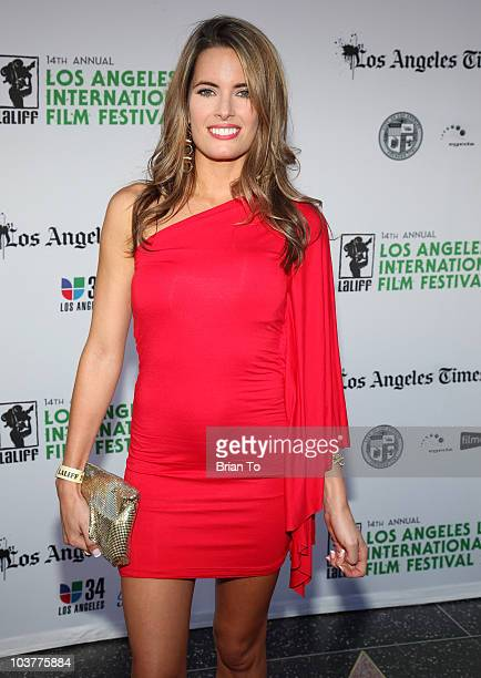 Jessica Uberuaga attends LA Latino International Film Festival opening night gala on August 19 2010 in Hollywood California