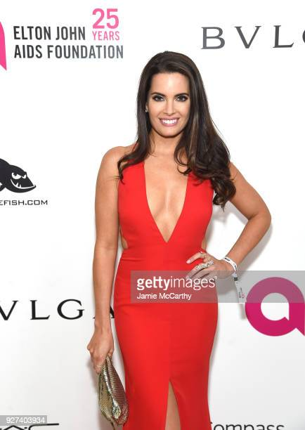 Jessica Uberuaga attends the 26th annual Elton John AIDS Foundation Academy Awards Viewing Party sponsored by Bulgari celebrating EJAF and the 90th...
