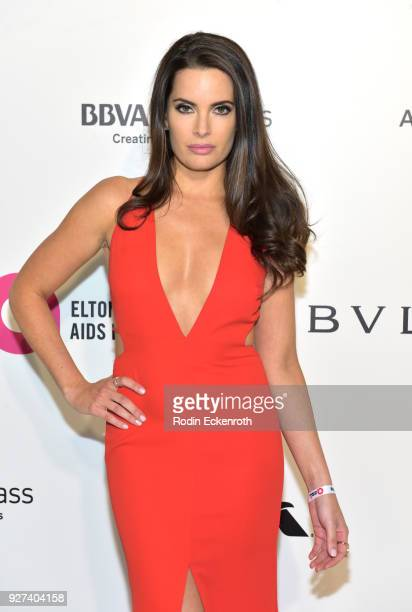 Jessica Uberuaga attends the 26th annual Elton John AIDS Foundation's Academy Awards Viewing Party at The City of West Hollywood Park on March 4 2018...