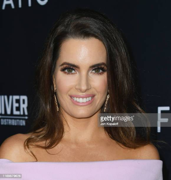 Jessica Uberuaga attends the Premiere Of Quiver Distribution's The Fanatic at the Egyptian Theatre on August 22 2019 in Hollywood California