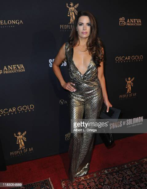 Jessica Uberuaga attends the Private Screening Of Songs Of Solomon held at TCL Chinese Theatre on October 22 2019 in Hollywood California
