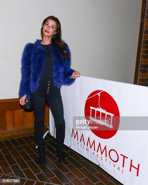 Jessica Vargas attends Mammoth Film Festival on February 8 2018 in Mammoth Lakes California