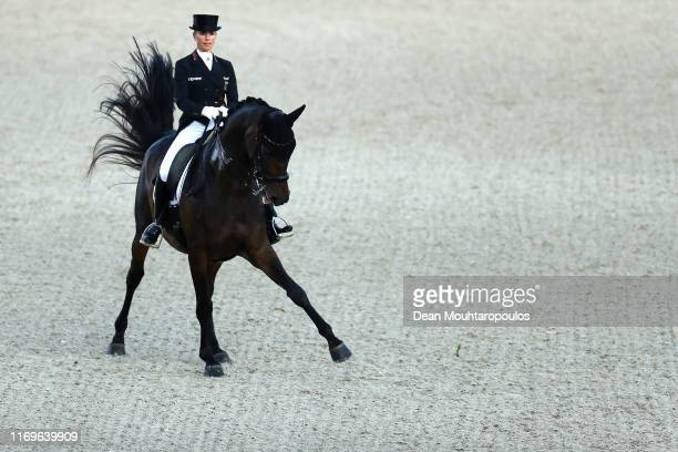 Jessica von Bredow-Werndl of Germany riding TSF Dalera BB competes during Day 4 of the Longines Grand Prix Special FEI Dressage European Championship...