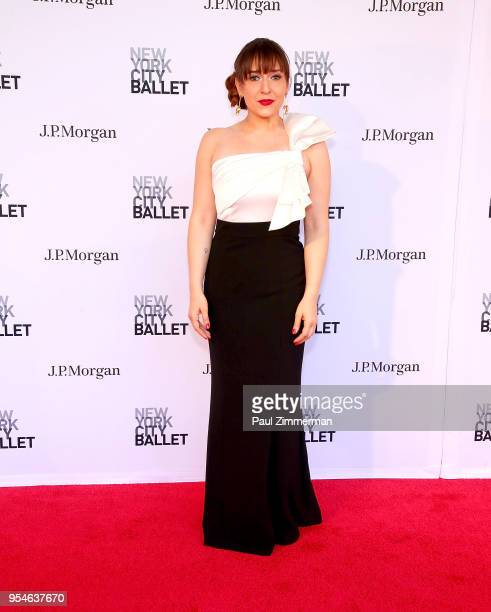 Jessica Vosk attends the 2018 New York City Ballet Spring Gala at David H Koch Theater Lincoln Center on May 3 2018 in New York City