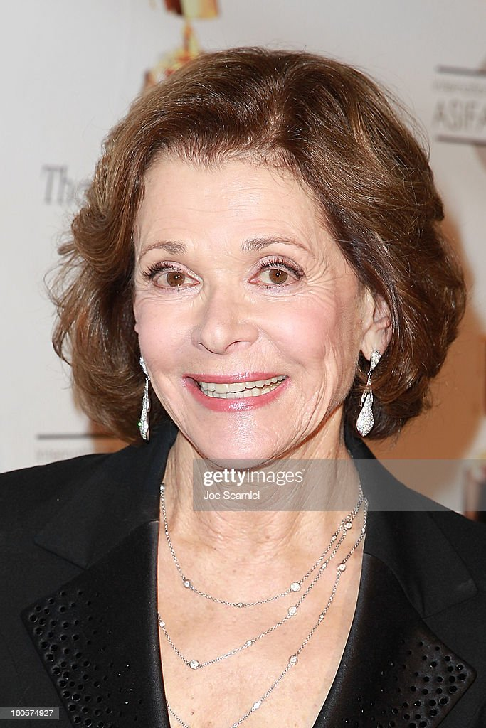 Jessica Walter arrives at the 40th Annual Annie Awards at Royce Hall on the UCLA Campus on February 2, 2013 in Westwood, California.