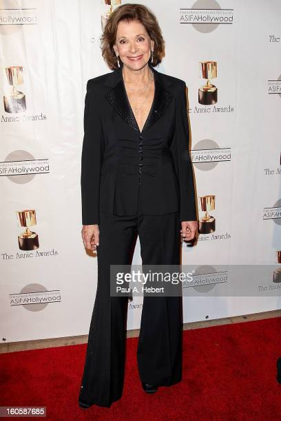 Jessica Walter arrives at the 40th Annual Annie Awards held at Royce Hall on the UCLA Campus on February 2 2013 in Westwood California