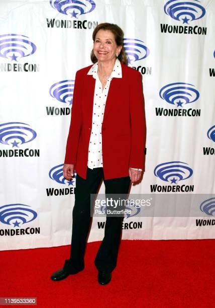 Jessica Walter attends the 'Archer' press line during WonderCon 2019 at Anaheim Convention Center on March 31 2019 in Anaheim California