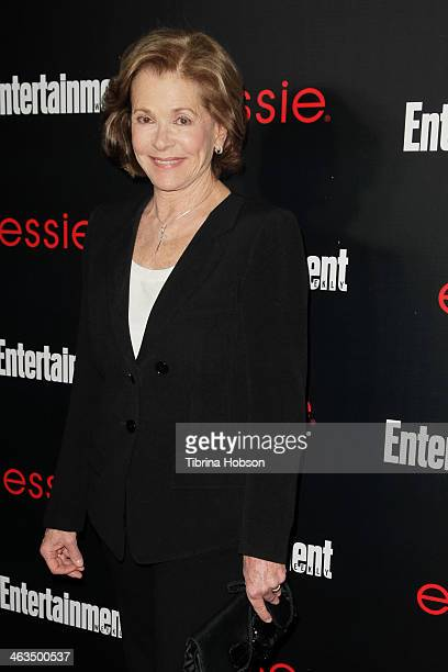Jessica Walter attends the Entertainment Weekly SAG Awards preparty at Chateau Marmont on January 17 2014 in Los Angeles California