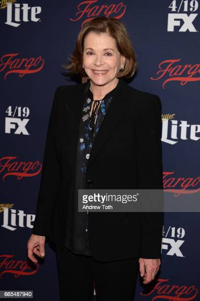 Jessica Walter attends the FX Network 2017 AllStar Upfront at SVA Theater on April 6 2017 in New York City