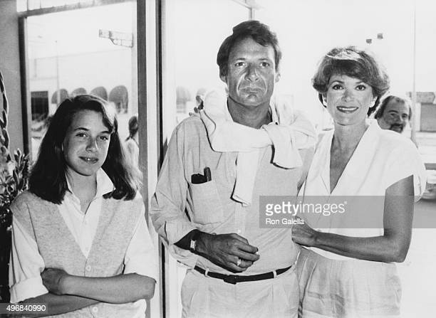 Jessica Walter dauther Brooke Walter and Ron Leibman sighted on June 1 1984 in Los Angeles California