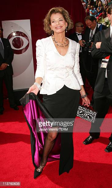 Jessica Walter during 57th Annual Primetime Emmy Awards Arrivals at The Shrine in Los Angeles California United States