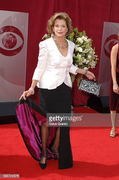 Jessica Walter during The 57th Annual Emmy Awards Arrivals at Shrine Auditorium in Los Angeles California United States