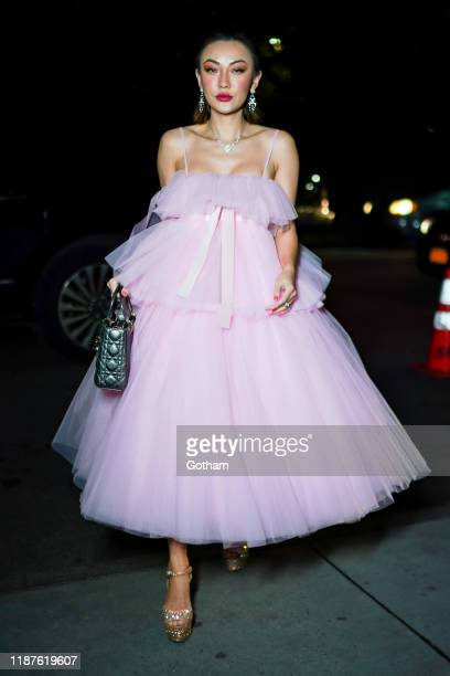 Jessica Wang attends the 2019 Guggenheim International Gala on November 13 2019 in New York City