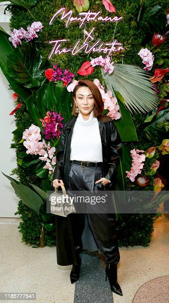 Jessica Wang attends the Montblanc x The Webster Collaboration Launch Event at The Webster on November 05, 2019 in New York City.