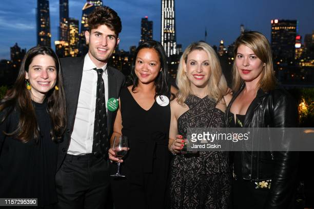 Jessica White Andrew White Tara Reed Samantha Brown and Emily Banks attend TEAK Fellowship A Midsummer Night at PhD Lounge at the Dream Downtown New...