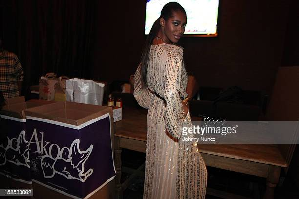 Jessica White attends Cans For Cocktails on December 17 2012 in New York City