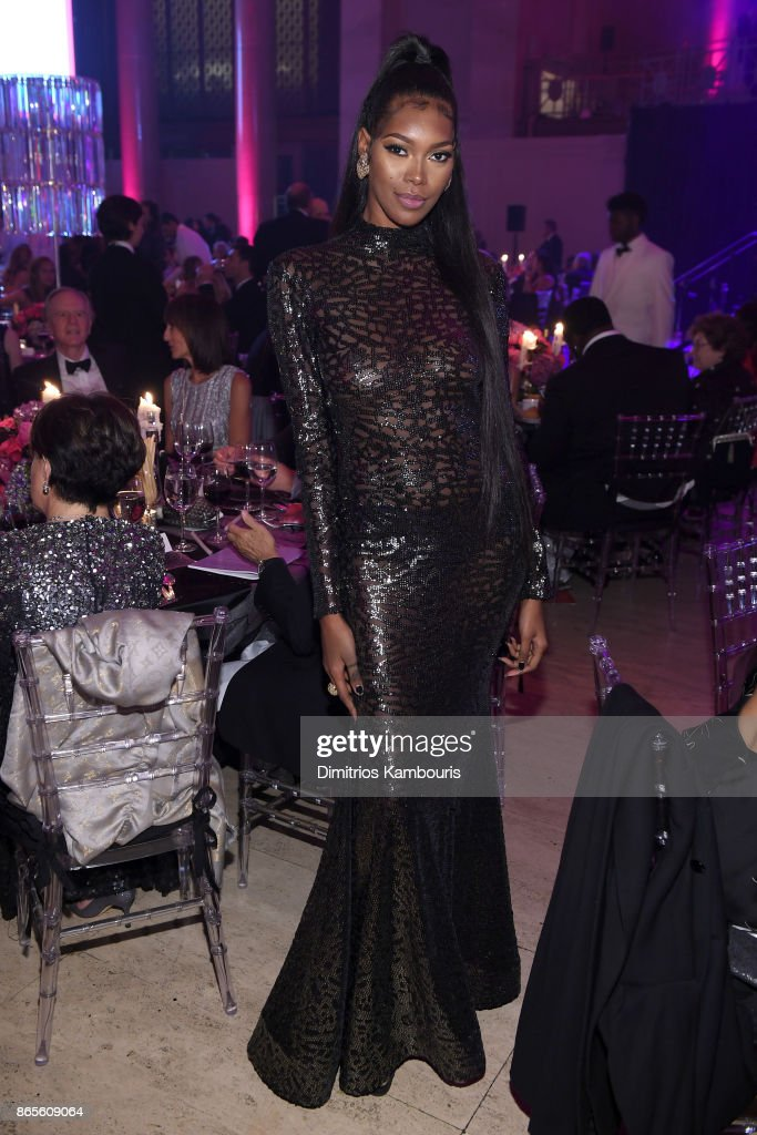 Jessica White attends Gabrielle's Angel Foundation's Angel Ball 2017 at Cipriani Wall Street on October 23, 2017 in New York City.