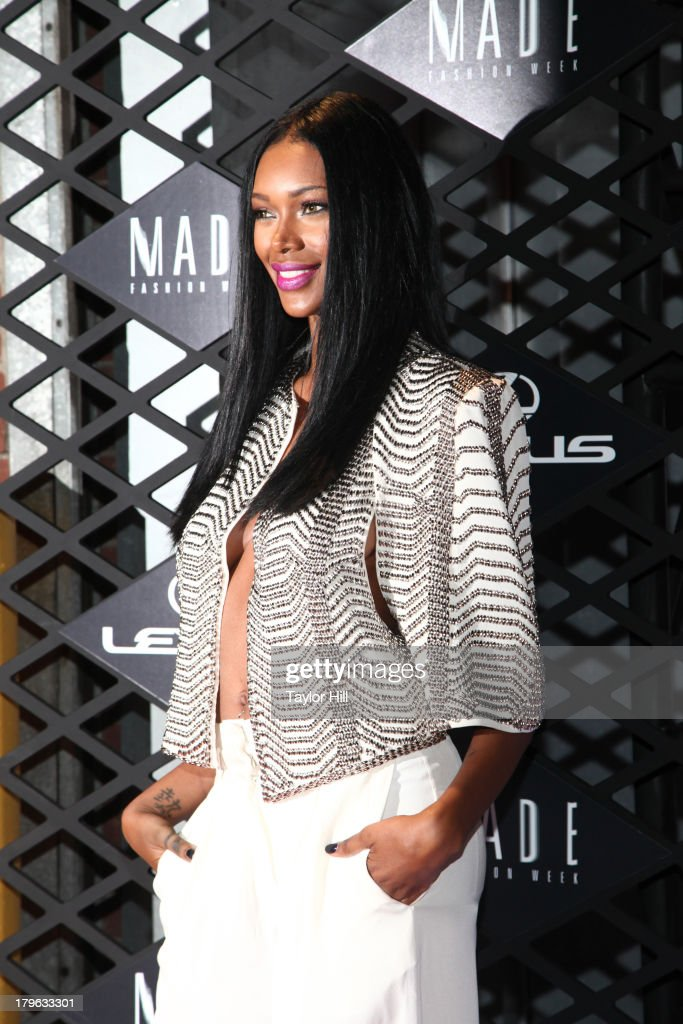 Jessica White attends the Lexus Design Disrupted Fashion Event at SIR Stage 37 on September 5, 2013 in New York City.