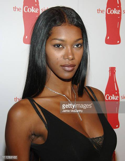 Jessica White during Coca Cola's Coke Side Of Life Launch Party at Capitale in New York City at Capitale in New York City New York United States