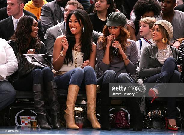 Jessica White Kimora Lee Simmons Tyra Banks and Beyonce Knowles