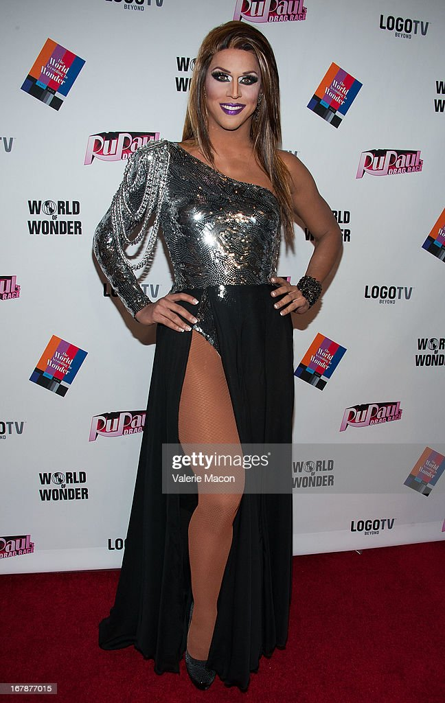 Jessica Wild attends the Finale, Reunion & Coronation Taping Of Logo TV's 'RuPaul's Drag Race' Season 5 on May 1, 2013 in North Hollywood, California.