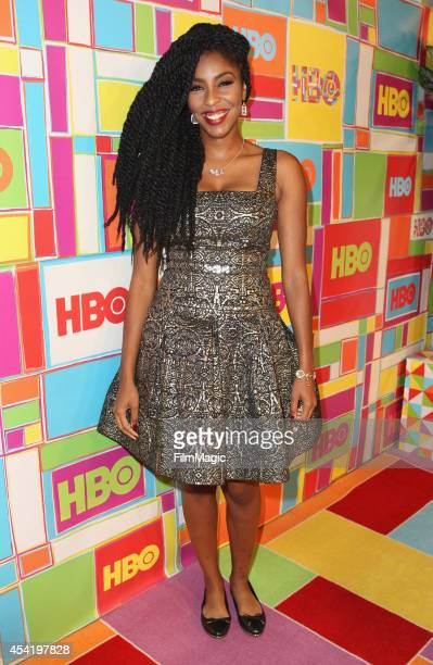 Jessica Williams attend HBO's Official 2014 Emmy After Party at The Plaza at the Pacific Design Center on August 25 2014 in Los Angeles California