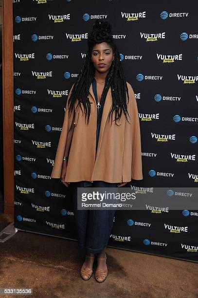 Jessica Williams attends 2016 Vulture Festival Kick Off Party at The Top of The Standard at The Standard High Line on May 20 2016 in New York City