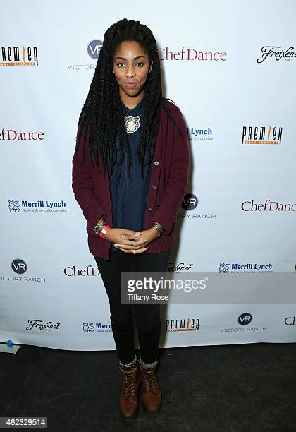Jessica Williams attends ChefDance 2015 presented by Victory Ranch and sponsored by Merrill Lynch Freixenet Anchor Distilling and Premier Meat Co on...