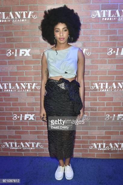 Jessica Williams attends FX's 'Atlanta Robbin' Season' Premiere Arrivals at Ace Theater Downtown LA on February 19 2018 in Los Angeles California