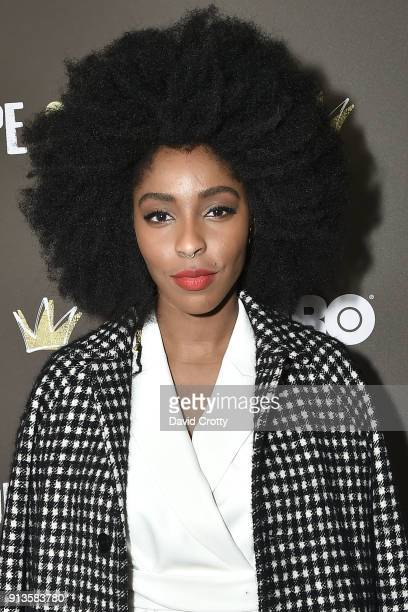 Jessica Williams attends HBO's '2 Dope Queens' Los Angeles Slumber Party Premiere at NeueHouse Hollywood on February 2 2018 in Los Angeles California